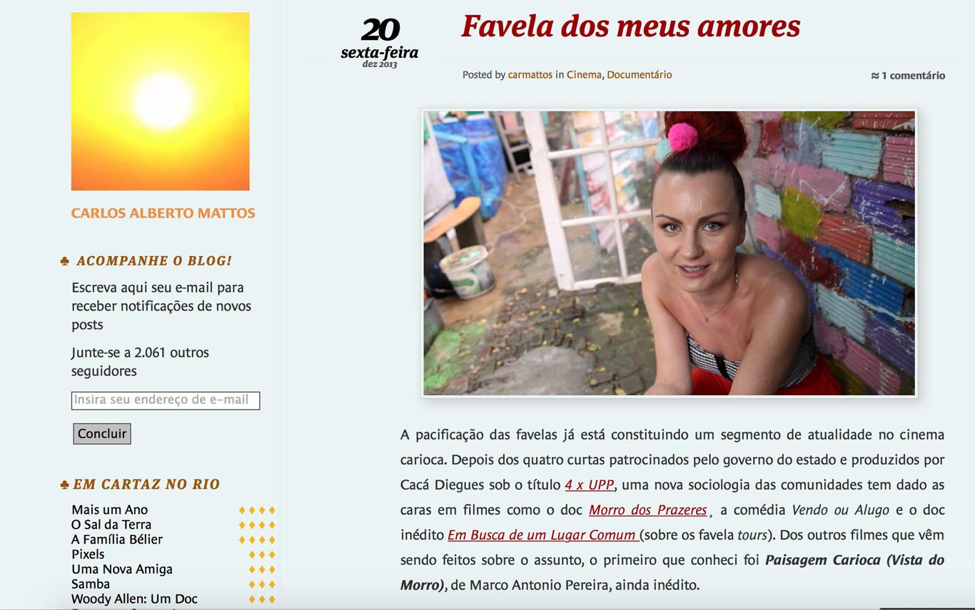 Imagem de Favela de meus amores